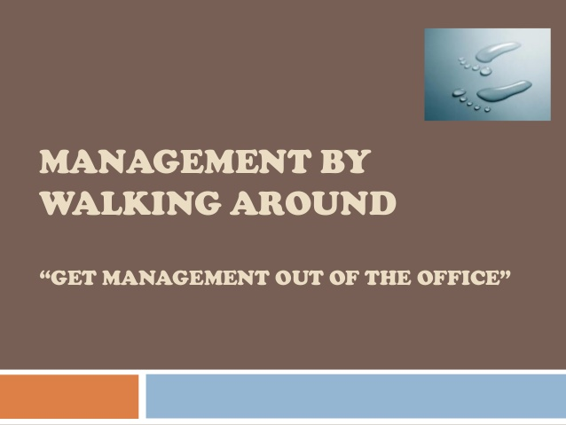 managment by walking